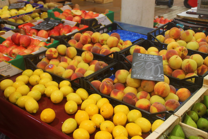 Markt Obst in Cannes