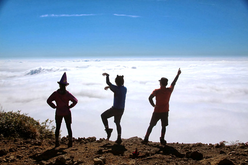 栗駒山の集合写真