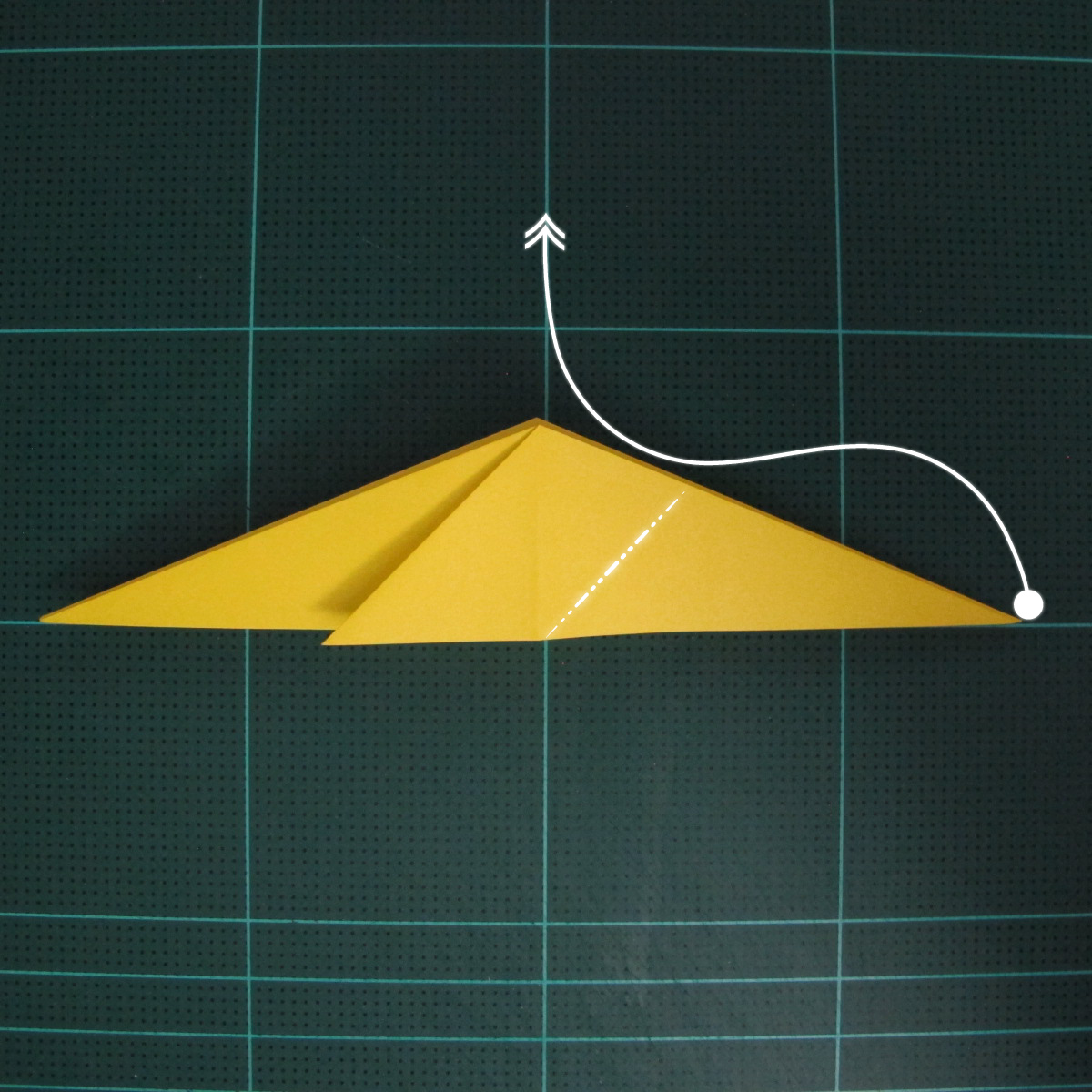 การพับกระดาษเป็นรูปไก่ (Origami Rooster) 004