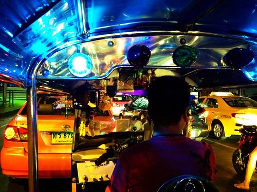 Tuk Tuk in Bangkok   by Mark Griffith