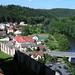 Český Šternberk – výhled z hradu, foto: Petr Nejedlý