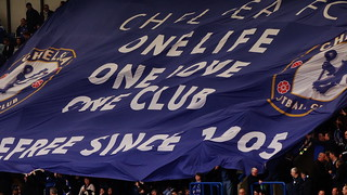 Chelsea banner: One Life, One Love, One Club, Carefree since 1905 | by Ben Sutherland