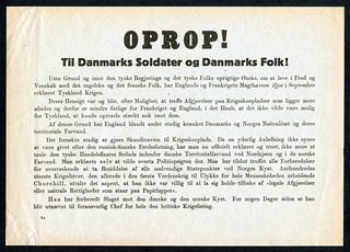 "Oprop! - The ""outcry"" on the 9th of April 1940 (p.1)"