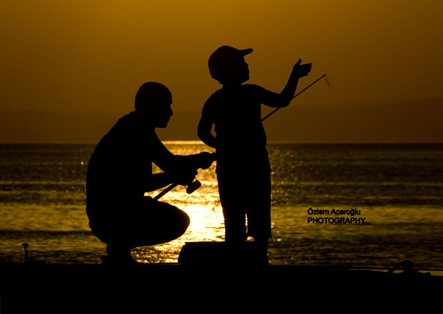 father and son... / All rights reserved