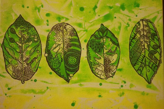 Zen Leaves 2