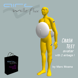 Crash test avatar_AIRE art freebies store | by Marc Moana aka Marc Blieux