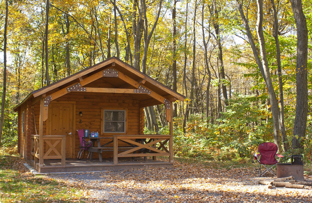 A Camping Cottage At French Creek State Park This Cozy Wo