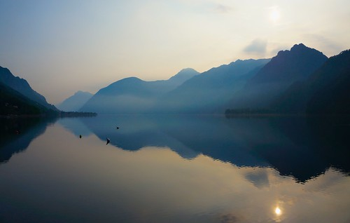 Lago d'Idro in the morning | by HendrikMorkel