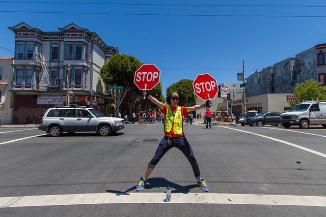 Sunday Streets June 2012: all stop