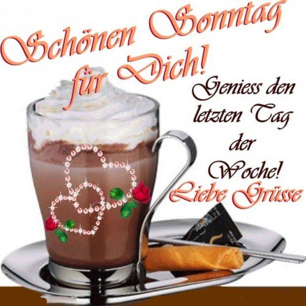 Guten Morgen Zusammen Und Einen Schönen Sonntag Via Blogge