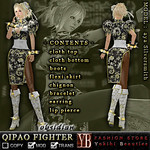 FASHION STORE *YB* QIPAO FIGHTER obsidian