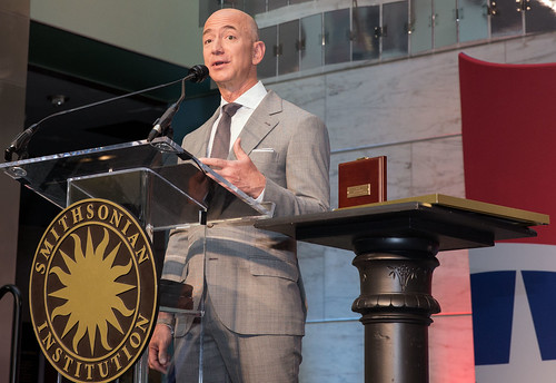 Flag Day Naturalization Ceremony Honoring Jeff Bezos | by national museum of american history