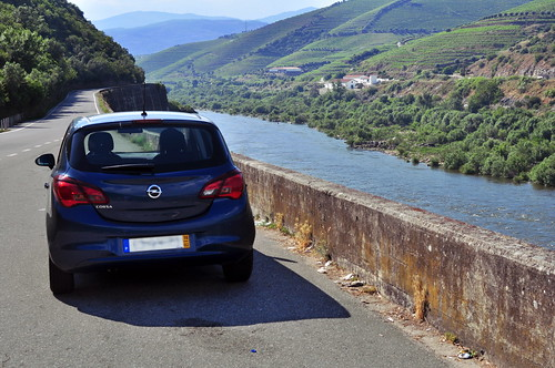 The  N222 by River Douro