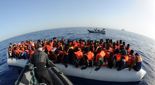 LÉ Róisín Rescues 371* Migrants in Three Separate Search and Rescue Operations 37 Nautical Miles NW of Tripoli | by Óglaigh na hÉireann