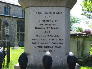 The men of Bures St Mary and Bures Hamlet