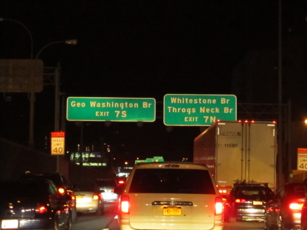 I-87 Northbound at Exit 7 to Cross-Bronx Expressway Approa… | Flickr
