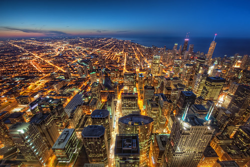 From the Skydeck: The City at Dusk | by ShutterRunner