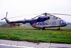 0822 Mil8 Czech Air Force at Plzen Linie Aug 94