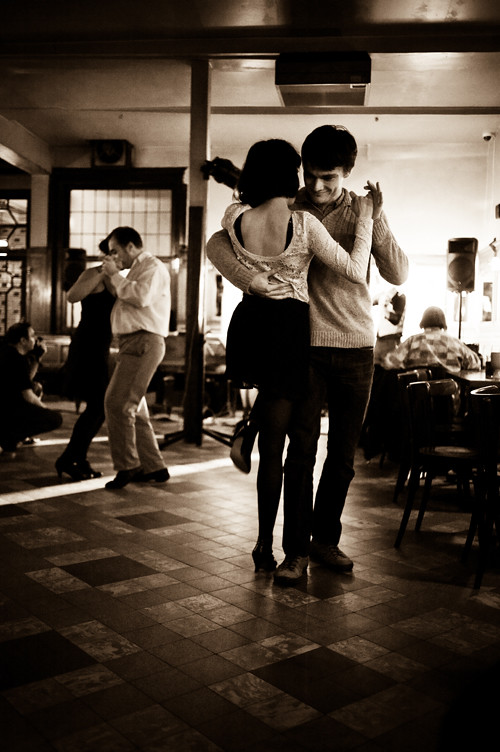 en kväll på tangoställe, bryssel