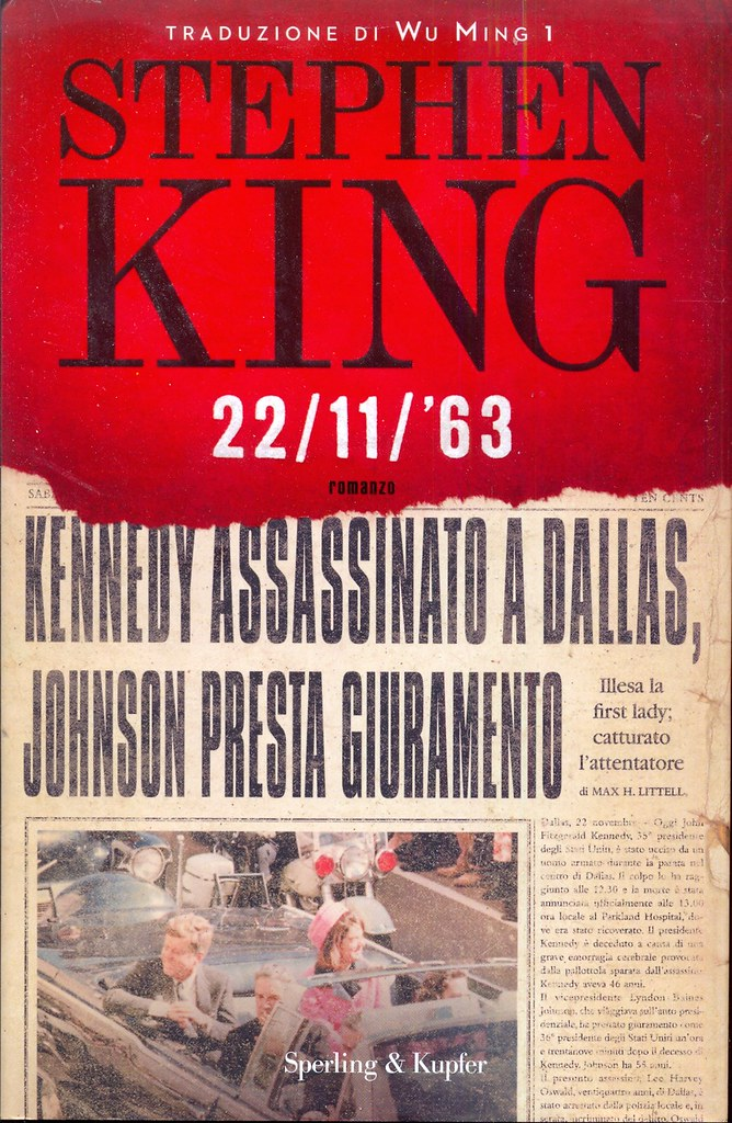 Libro Book Buch Livre 22 11 1963 Stephen King