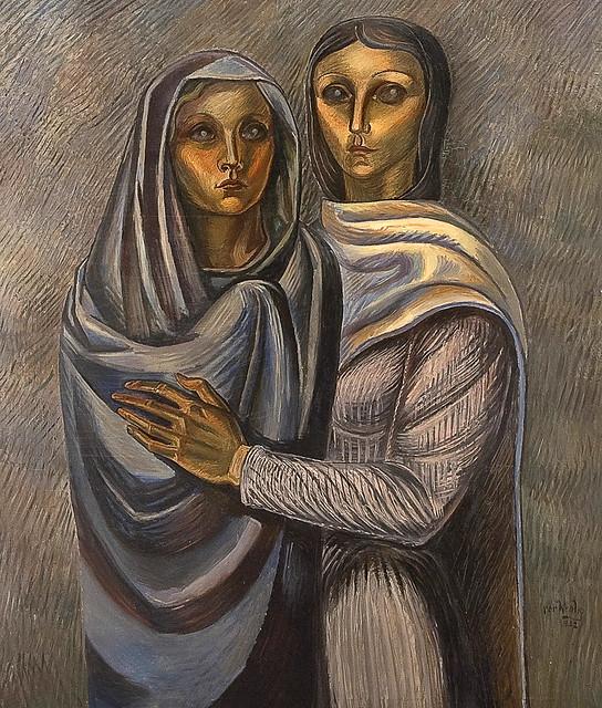Krohg,  Per (Norwegian, 1889-1965) -   Two Women  - 1932