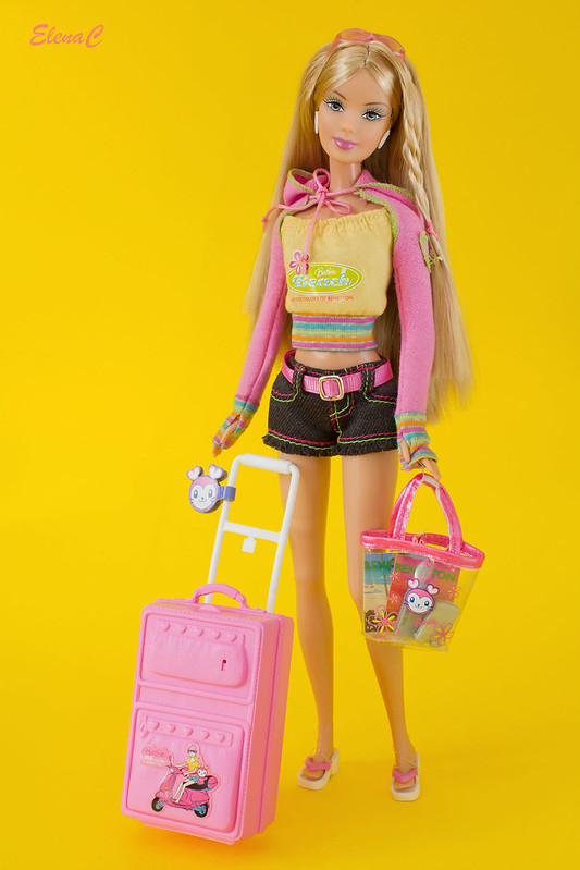 Barbie loves Benetton - Capri