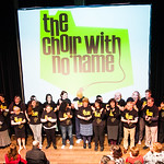 Our newest Choir with No Name, in Liverpool, held their first ever gig in March 2014 - with a little help from our friends (the Continuing Education Choir, the University Singers, South Sefton Singers and MASC).  The Choir with No Name is a charity that runs choirs for people who have experienced homelessness, and others from the margins of society.   www.choirwithnoname.org