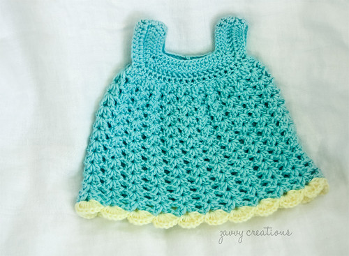 Shell Baby Sundress - Front | by Zavvy Creations