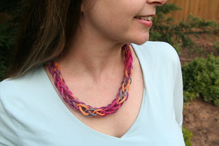 Yarn Necklace | by SarabellaE / Sara / Love in the Suburbs