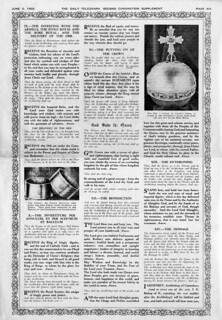 Daily Telegraph Coronation Day Supplement Page 13 - June 2, 1953