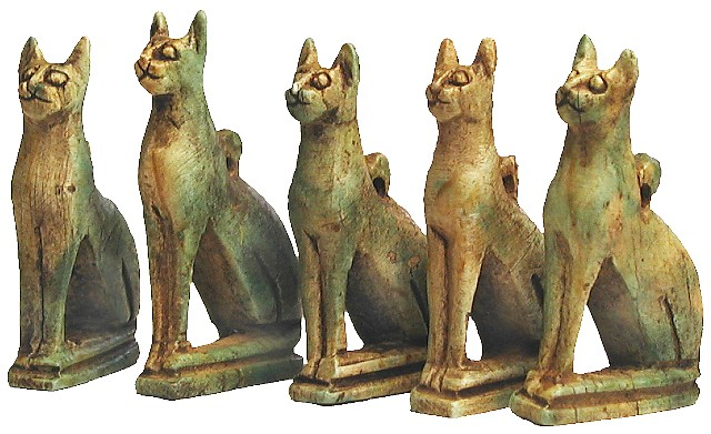 Sadigh Gallery Ancient Egyptian Soapstone Cat Amulets | Flickr