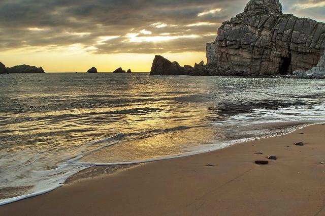 Playa Portio . Liencres - Cantabria