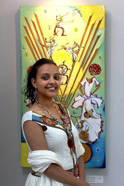 Meron Ermias, Ethiopian Artist