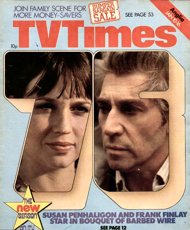 TV Times Cover 1976-01-10 Bouquet of Barbed Wire   combomphotos   Flickr