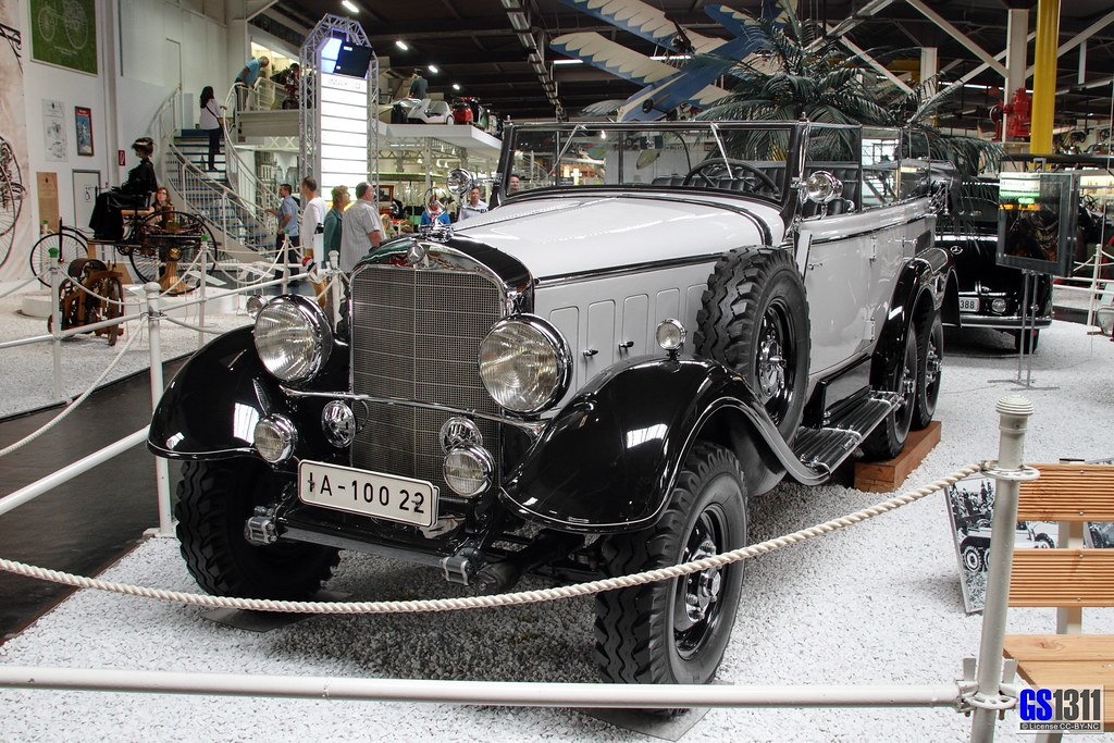 Engine And Transmission World >> 1934 - 1939 Mercedes-Benz W31 (Typ G4) | The Mercedes-Benz ...