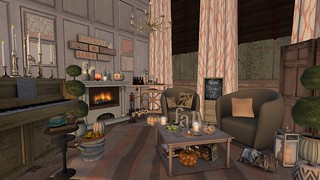 Softer shade for Fall | by Hidden Gems in Second Life (Interior Designer)