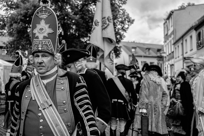 Prussian Soldier at our local Castle Festival