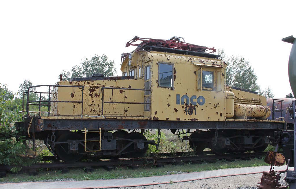 Inco 101 50t National Steel Car Westinghouse Electric Loc Flickr