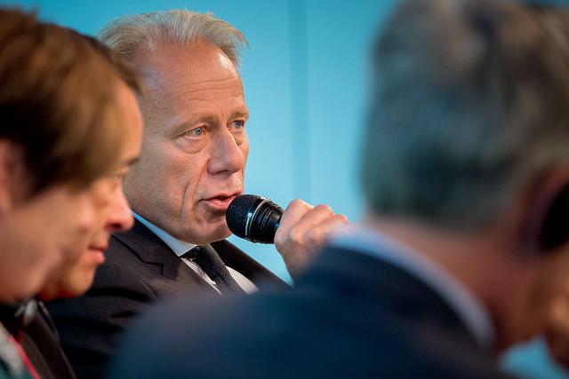 Jürgen Trittin (MdB, Mitglied im Auswärtigen Ausschuss des Dt. Bundestages) Foto: Stephan Röhl