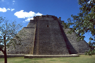 Pyramid of the Magician : East front | by berniedup