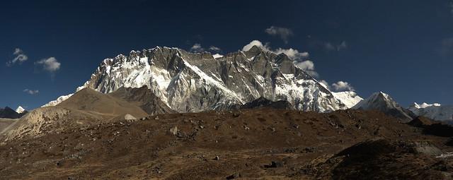 Nuptse and Lhotse