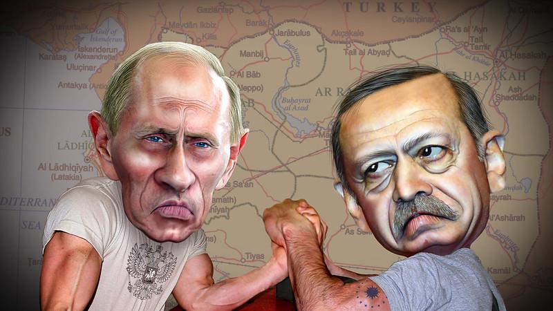 Vladimir Putin and Recep Tayyip Erdogan Struggle for Leverage