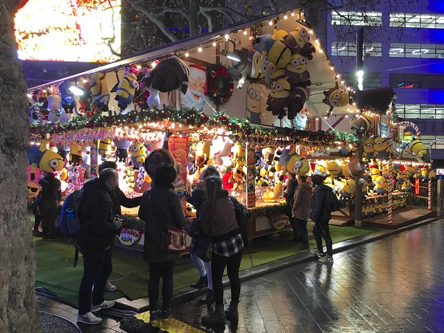 Leicester Square Christmas Market, London, England