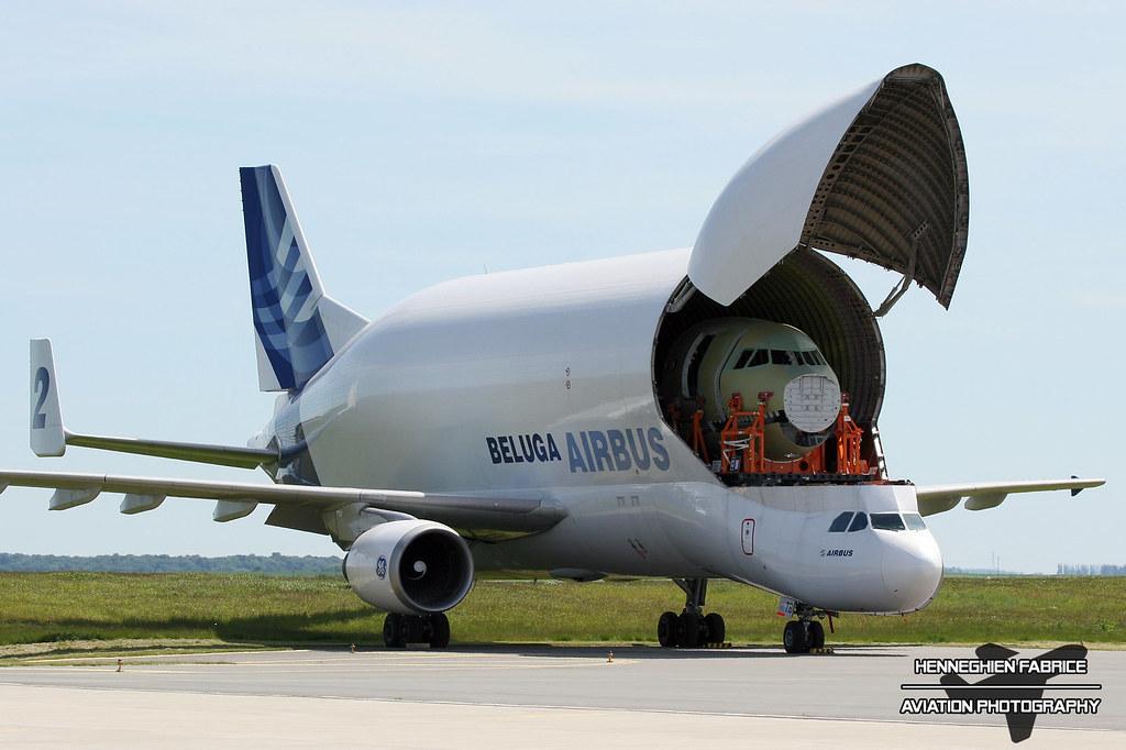 cheap for discount 862ec 6cda3 Beluga 2 F-GSTB Airbus A300-600ST Airbus Industries (AIB ...
