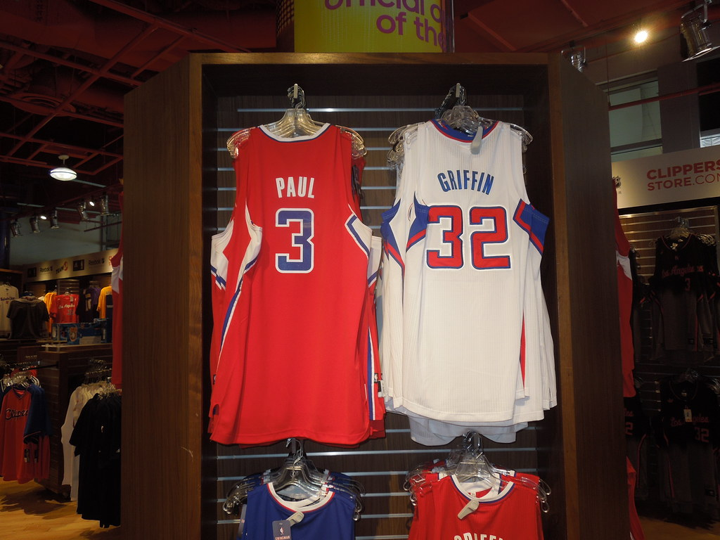 the best attitude c633c 1e1a9 Clippers Store at Staples Center | 3282. Los Angeles Clipper ...