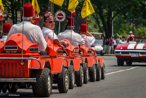 Rush hour Toronto:: Shriner Parade | by Phil Marion (176 million views - THANKS)
