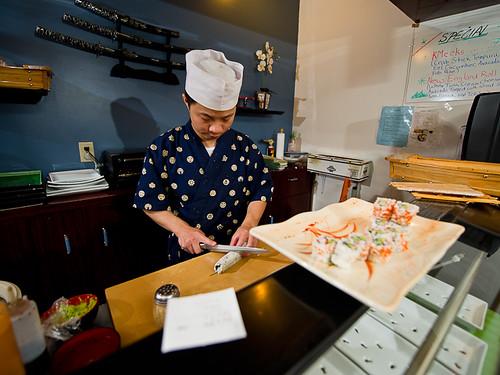 Sushi Chef, Oga Restaurant, Leonardtown