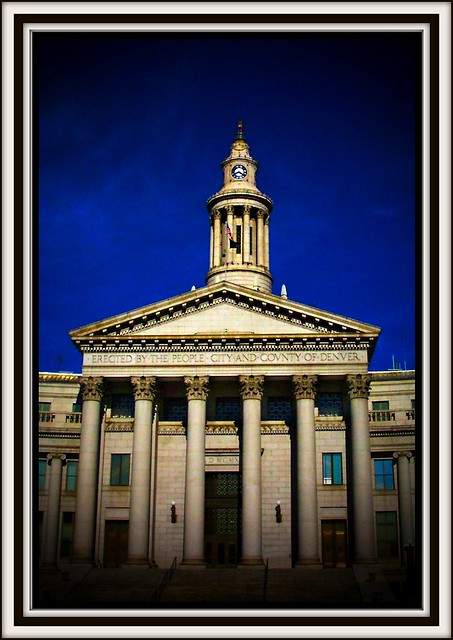 City and County of Denver Building ~ City Hall/Courthouse ~ Denver Co