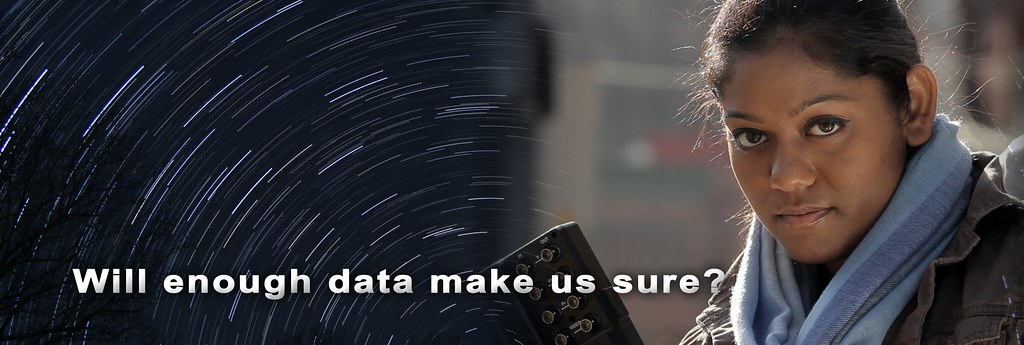 """From """"Pursuit of Light"""" - Enough Data?"""