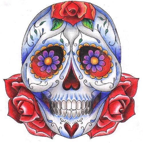 Caveira Mexicana Desenho Tattoo Modelo Biel Tattoo Flickr